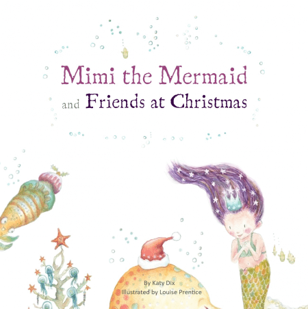 Mimi the Mermaid at Christmas front cover